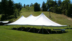 Graduation parties tent sales small weddings and fundraisers are just a few events are accommodated best by small and medium pole tents. & La Crosse Tent and Awning Pole Tent Rentals for Special Events ...